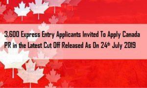 Apply Canada PR visa with latest Cut off