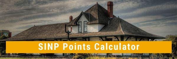 SINP Points Calculator 2020