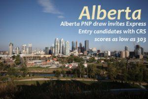 Alberta PNP express entrydraw